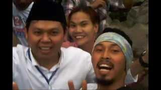 Keseruan Tim Sultan B Najamudin   Mujiono bersama Barisan Panglima dan Tambur Arga Makmur