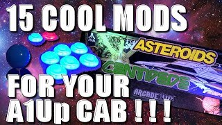 15 Cool Arcade 1Up Mods!
