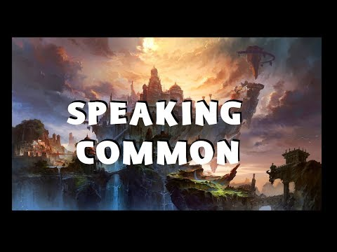 Dungeons and Dragons Lore: Speaking Common