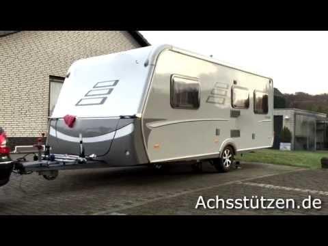 achsst tzen kippsystem ohne wagenheber wohnwagen aufbocken caravan reifenwechsel