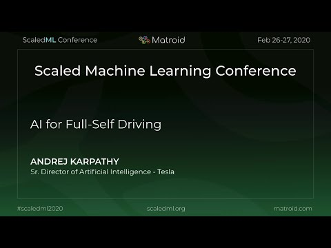 Andrej Karpathy – AI for Full-Self Driving