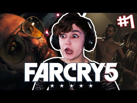 OHMYGOD THE CHILLS! Far Cry 5 (Part 1)
