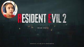 RESIDENT EVIL 2 Remake - O Início de Gameplay em Português | Campanha do Leon