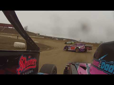 Adam Taft Practice Day In-Car Footage at Woodhull Raceway