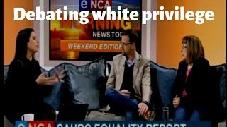 Debating white privilege with Terry Oakley-Smith