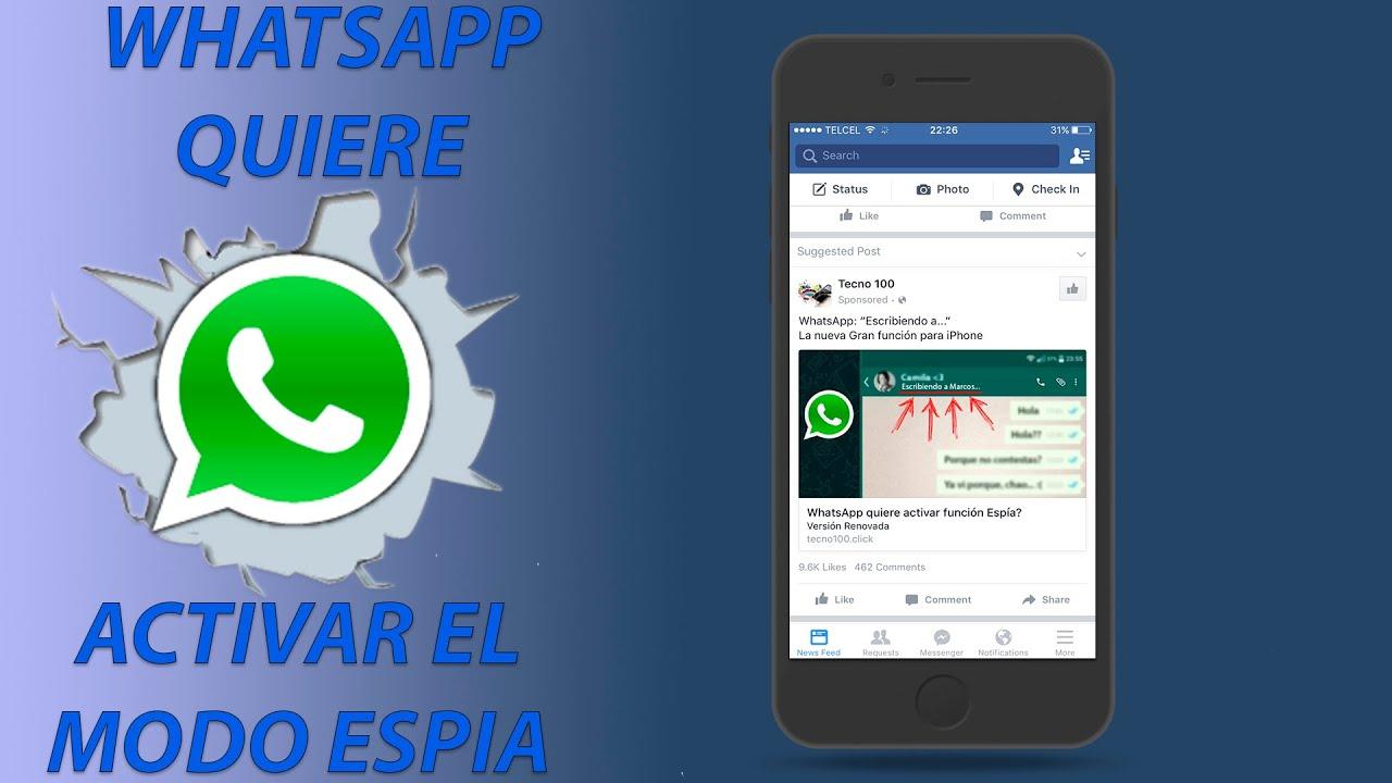 como activar el espia de whatsapp