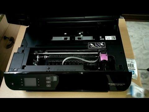HP 3545 First Start and USB Setup