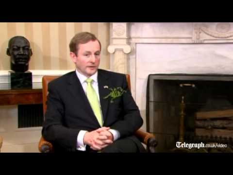 Obama welcomes Irish Prime Minister Kenny to the White House