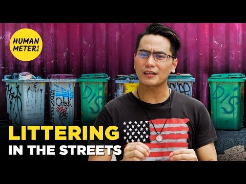 Philippines Social Experiment: Do Locals Care About The Environment?  | HumanMeter