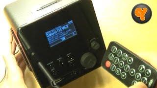 Einrichtung & Test: Hama IR100 Wireless LAN Internet Radio WLAN Webradio