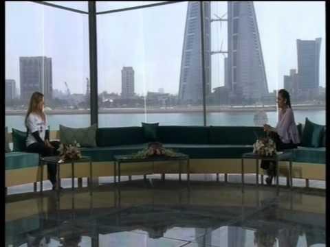 Anke Brandt on Hala Bahrain - Bahrain TV Interview 250km Kite Challenge
