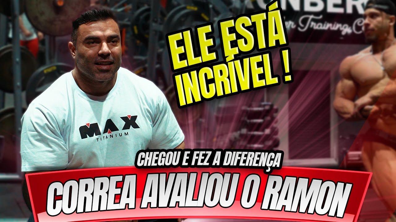 CORREA AVALIOU O SHAPE DO RAMON DINO