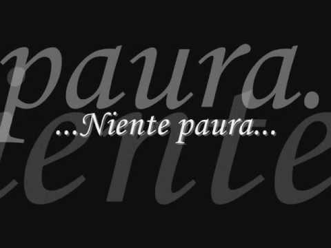 Niente paura,Ligabue(testo)