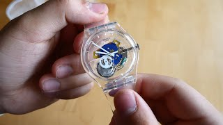 Swatch Random Ghost SUOK111 Unboxing