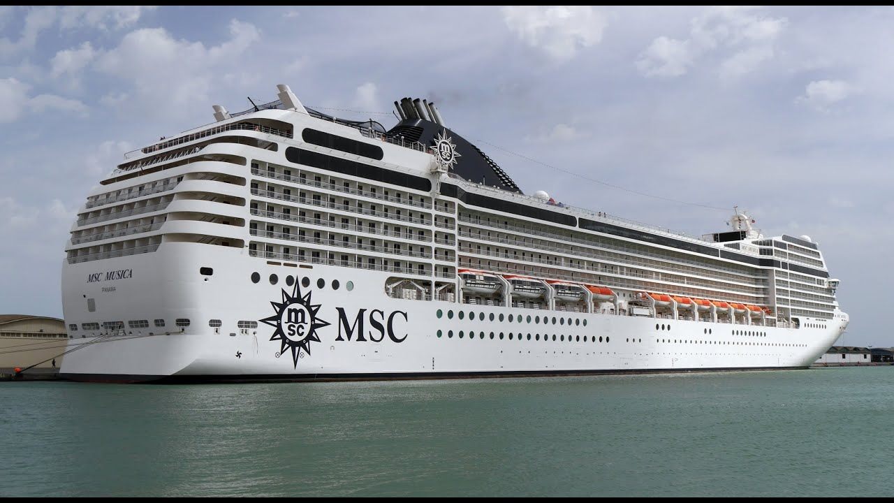 Msc Musica Inside And Outside Youtube