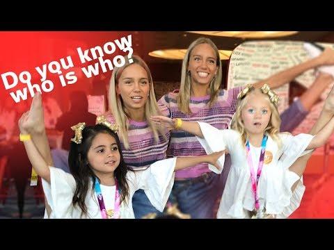 EVERLEIGH AND AVA TEACH TWINS LISA AND LENA DANCE MOVES AND TAKE VIDCON!