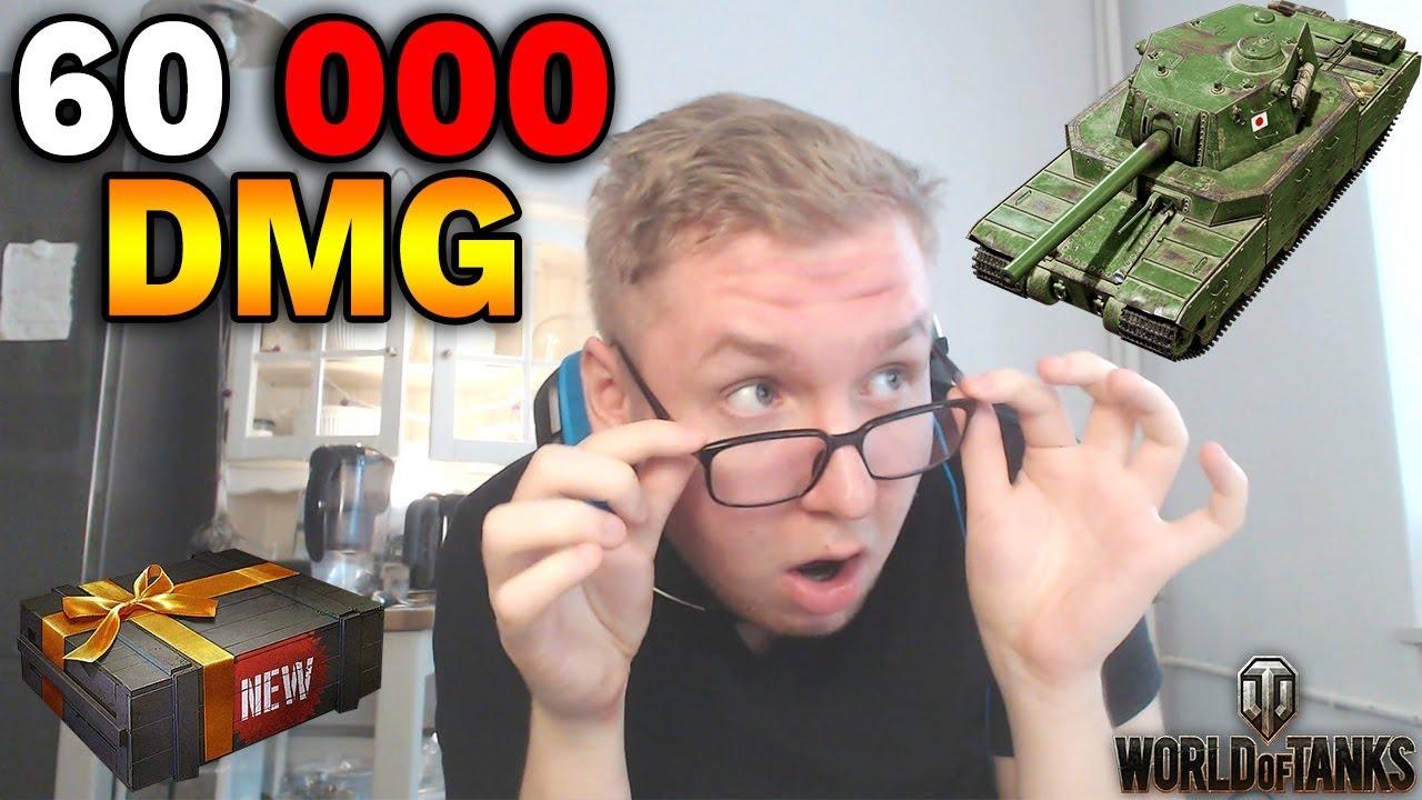 60 000 DMG – REKORD Uszkodzeń w World of Tanks