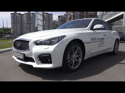 2016 Infiniti Q50 (V37). Start Up, Engine, and In Depth Tour.