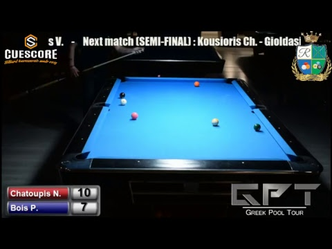 Royal Billiards Club B' Division Tournament (Chatoupis N. -
