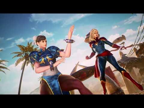 Marvel VS. Capcom: Infinite (Xbox One) Arcade as Chun-Li & Captain Marvel