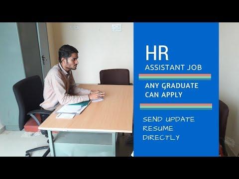 HR Assistant Job | Any Graduate | Vadodara - JobAlert#JC01