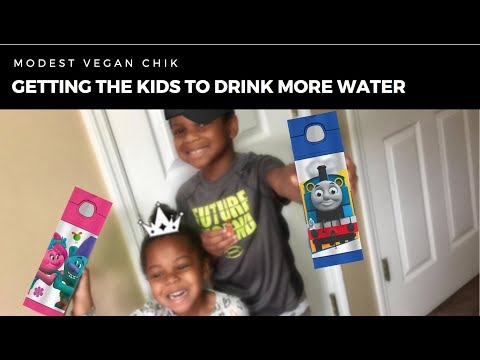 Getting The Kids To Drink More Water | Thermos Funtainers | Trolls | Thomas & Friends