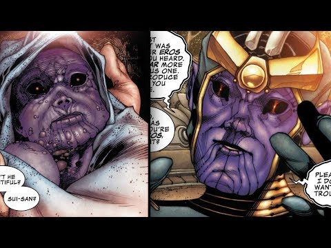 Thanos Childhood and Teenage Years - Marvel Comics Explained