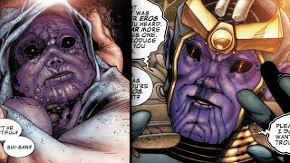 Thanos\' Childhood and Teenage Years - Marvel Comics Explained