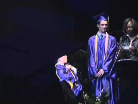 Jimmy Freels graduates from Lakeside High School.