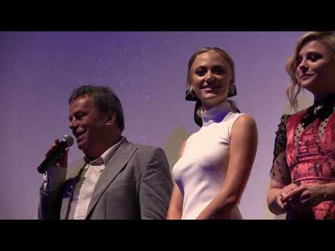 Greta Q&A with Chloë Grace Moretz, Maika Monroe, and Isabelle Huppert