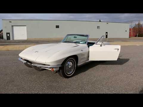 1964 Corvette Convertible For Sale~Matching 327/365hp~Early Production Price $32,995
