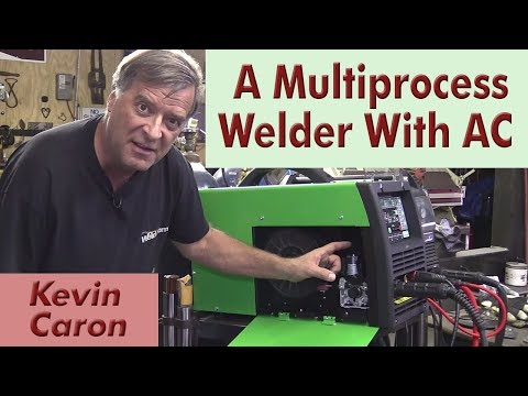 Introducing the Everlast 221STi Multiprocess AC / DC Welder - Kevin Caron