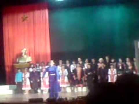 Hát múa: Việt Bắc ơn người