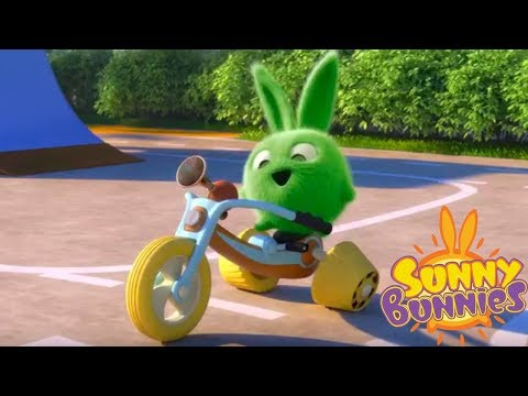 Videos For Kids | Sunny Bunnies - HOPPERS BIKE | SUNNY BUNNIES | Funny Videos For Kids