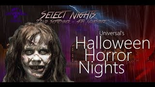 Roblox Universal Studios HHN | Exorcist and American Horror Story
