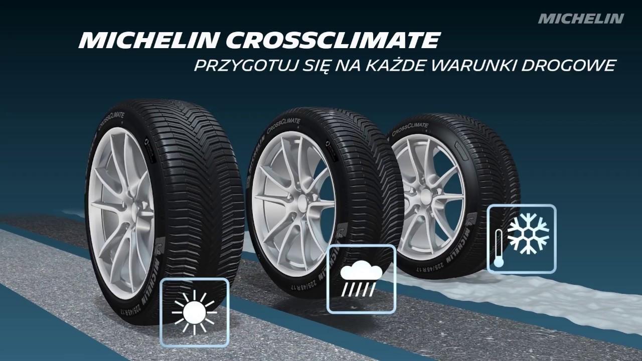 Michelin Crossclimate Opony Letnie Z Homologacją Zimową Youtube