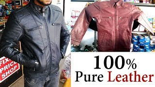 100% Pure लेदर I Cheap & Quality Leather Jackets in Kanpur - DK Bro