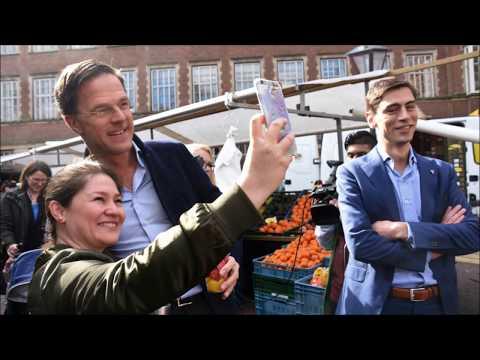 Mark Rutte bezocht de Leidse markt. www.leidseglibber.nl