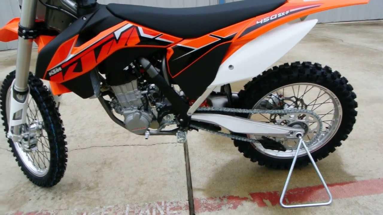 $8,999 2014 KTM 450SXF 4 Stroke Fuel Injected Motocross