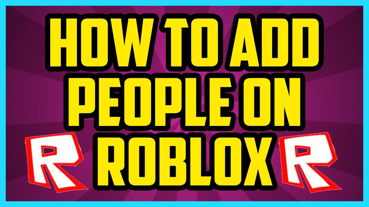 How do you search for friends on roblox