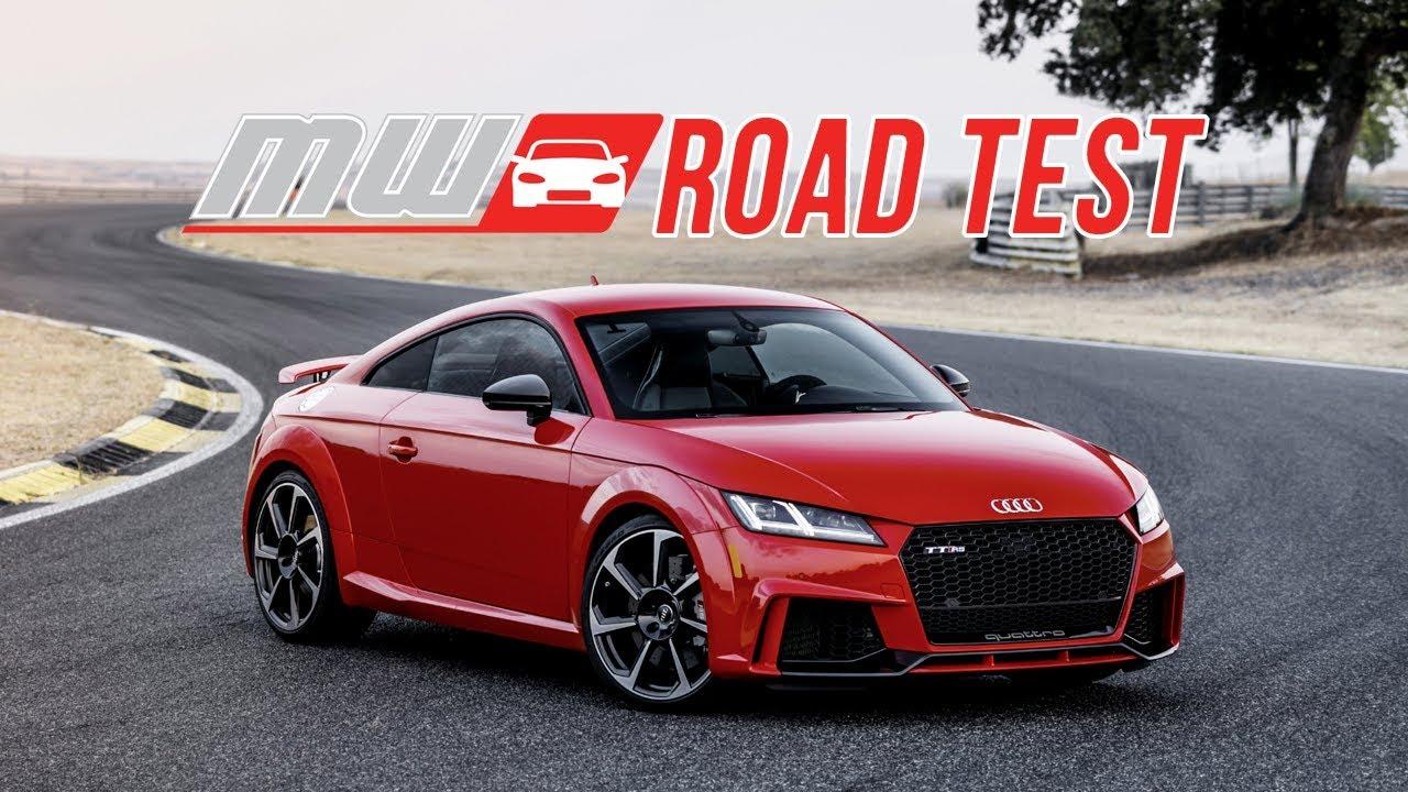 2018 Audi Tt Rs Road Test Youtube
