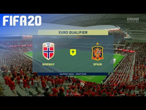FIFA 20 - Norway vs. Spain (EURO 2020 Qualifier)
