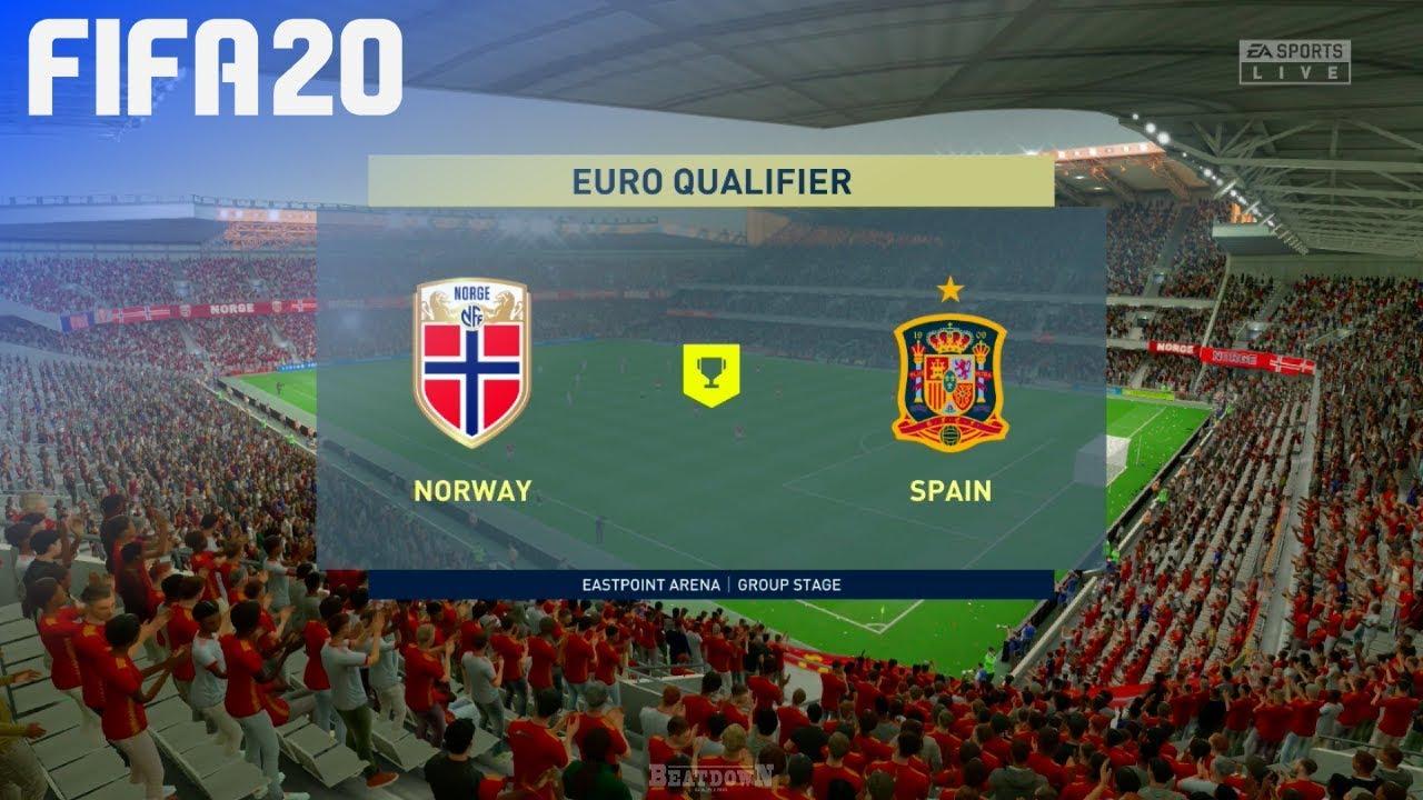Xem lại Na Uy vs Tây Ban Nha, vòng loại Euro 2020