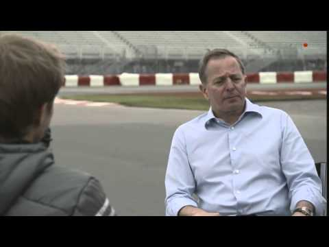 Martin Brundle interview Nico Rosberg at Canada