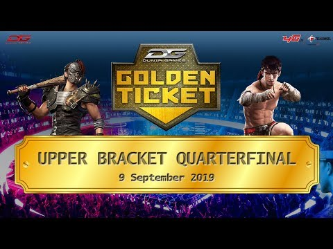 Upper Quarterfinal Dunia Games Golden Ticket Area 3 - 9 September 2019