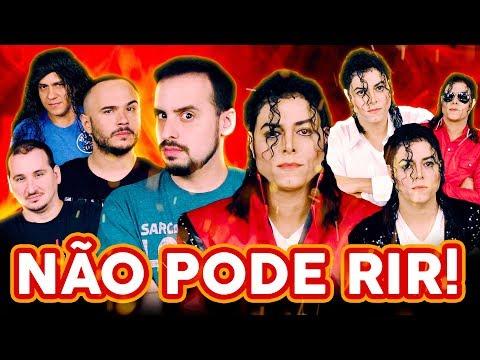 NÃO PODE RIR - com MICHAEL JACKSON ft Rodrigo Teaser