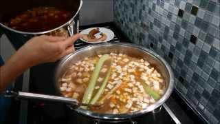 Венгерский фасолевый суп гуляш, Babgulyás