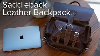 Saddleback Leather Thin Front Pocket Backpack Review