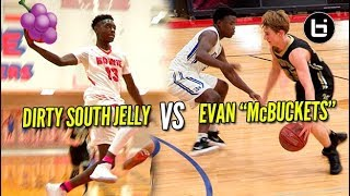 DIRTY SOUTH JELLY VS EVAN 'McBUCKETS!' Ballislife Highlights