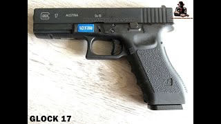 bbgunรีวิวปืนbbgunจากค่ายweงานไต้หวันปืนglock-17ยิงได้แรงมากและแม่นยำ
